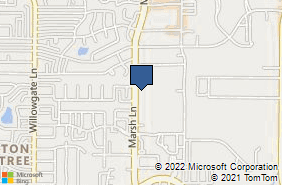 Bing Map of 2418 Marsh Ln Carrollton, TX 75006