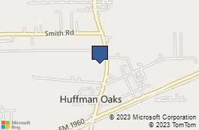 Bing Map of 24501 Fm 2100 Rd Ste C Huffman, TX 77336