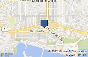 Bing Map of 24672 San Juan Ave Ste 210 Dana Point, CA 92629