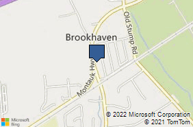 Bing Map of 2470 Montauk Hwy Brookhaven, NY 11719