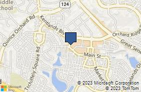Bing Map of 248 Main St Gaithersburg, MD 20878