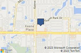 Bing Map of 2480 E Bay Dr Ste 14 Largo, FL 33771