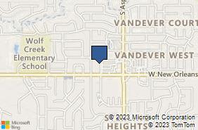 Bing Map of 2484 W New Orleans St Broken Arrow, OK 74011