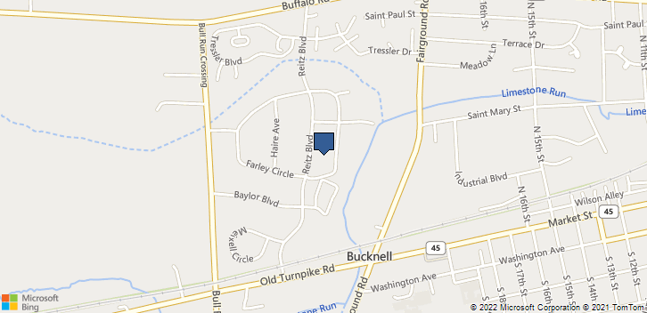 250 Reitz Rd Lewisburg, PA, 17837 Map