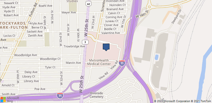 2500 Metrohealth Dr Cleveland, OH, 44109 Map
