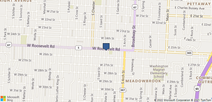 2500 S State St Little Rock, AR, 72206 Map