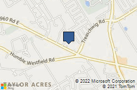Bing Map of 2509 Fm 1960 Rd Ste E Houston, TX 77073