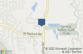 Bing Map of 25115 Gosling Rd Ste A Spring, TX 77389