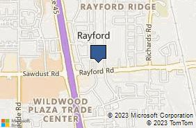 Bing Map of 25132 Oakhurst Dr Ste 200 Spring, TX 77386