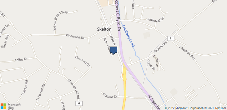 252 Auto Plaza Dr Beckley, WV, 25801 Map
