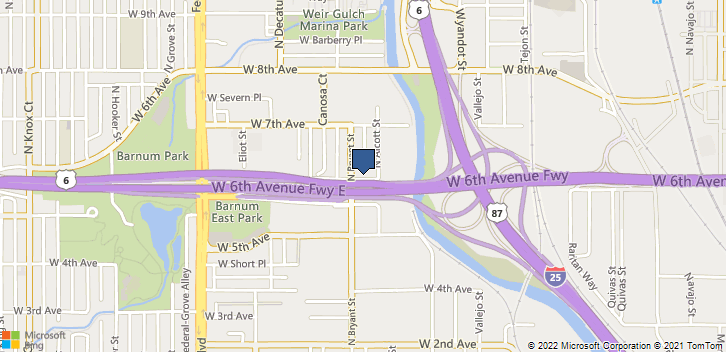 2525 W 6th Ave. Denver, CO, 80204 Map