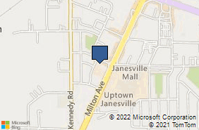 Bing Map of 2557 Milton Ave Janesville, WI 53545