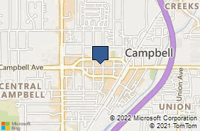 Bing Map of 257 E Campbell Ave Ste 1 Campbell, CA 95008
