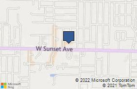 Bing Map of 2576 W Sunset Ave Ste G Springdale, AR 72762