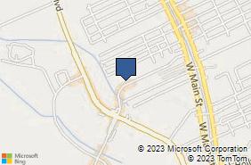 Bing Map of 258 Enterprise Dr Houma, LA 70360
