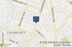 Bing Map of 2581 Charlestown Rd New Albany, IN 47150