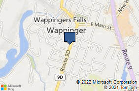 Bing Map of 2591 South Ave Wappingers Fl, NY 12590