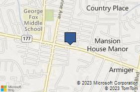 Bing Map of 2608 Mountain Rd Ste 5 Pasadena, MD 21122