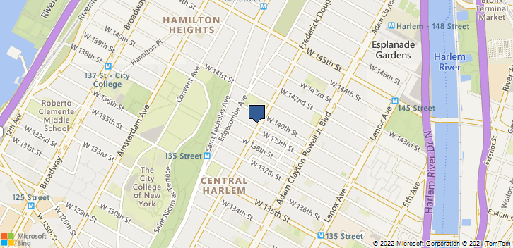 2615 Frederick Douglass Blvd New York, NY, 10030 Map