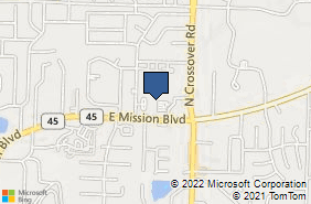 Bing Map of 2630 E Citizens Dr Ste 2 Fayetteville, AR 72703