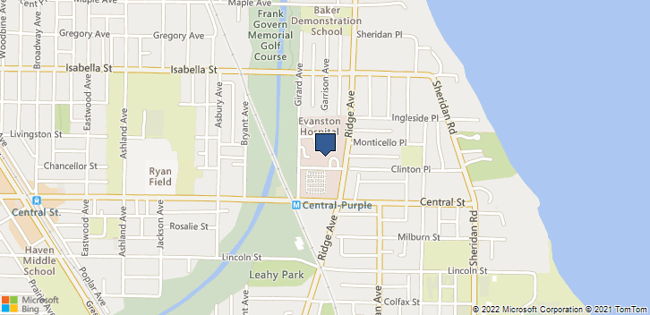 2650 Ridge Ave, 3215 Evanston, IL, 60201 Map