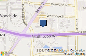 Bing Map of 2656 S Loop W Ste 265 Houston, TX 77054