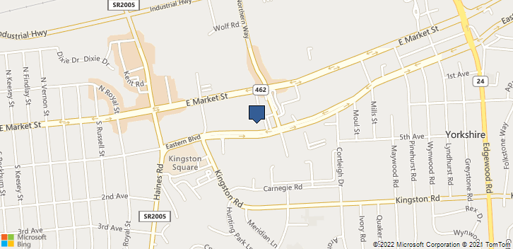 2675 Eastern Blvd York, PA, 17402 Map