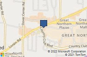 Bing Map of 26777 Lorain Rd Ste 3 North Olmsted, OH 44070