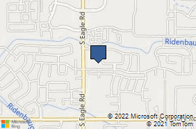 Bing Map of 2680 S Eagle Rd Ste 150 Meridian, ID 83642