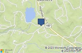 Bing Map of 27 Cashiers Lake Rd Ste A Cashiers, NC 28717
