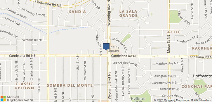 2709 Wyoming Blvd NE Albuquerque, NM, 87111 Map