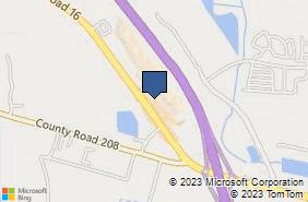 Bing Map of 2730 State Road 16 Ste 113 Saint Augustine, FL 32092
