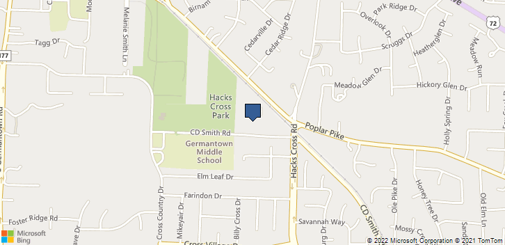 2745 Hacks Cross Road Germantown, TN, 38138 Map