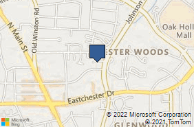 Bing Map of 275 E Parris Ave Ste 108 High Point, NC 27262