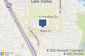 Bing Map of 275 Market St Lake Dallas, TX 75065