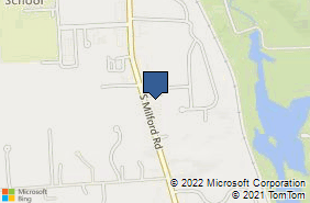 Bing Map of 2753 S Milford Rd Ste C Highland, MI 48357