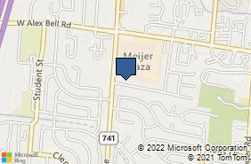 Bing Map of 2781 Orchard Run Rd West Carrollton, OH 45449
