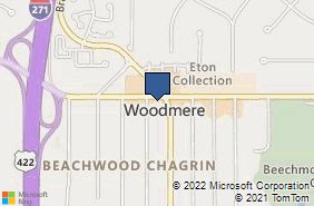Bing Map of 27970 Chagrin Blvd Ste W210 Woodmere, OH 44122