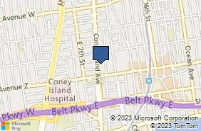 Bing Map of 2799 Coney Island Ave Ste 2f Brooklyn, NY 11235