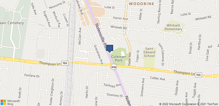 2800 Nolensville Rd Nashville, TN, 37211 Map