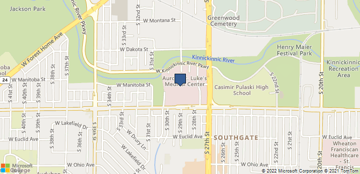 2801 W Kinnickinnic River Pkwy Milwaukee, WI, 53215 Map
