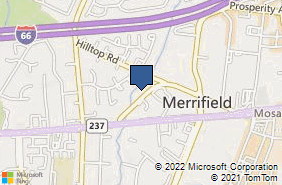 Bing Map of 2812 Old Lee Hwy Ste 200 Fairfax, VA 22031