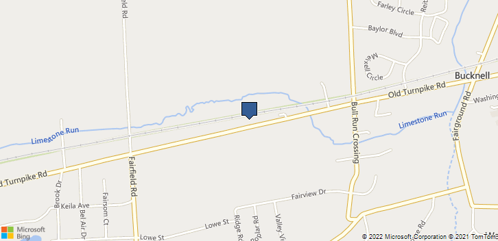 2824 Old Turnpike Rd Lewisburg, PA, 17837 Map