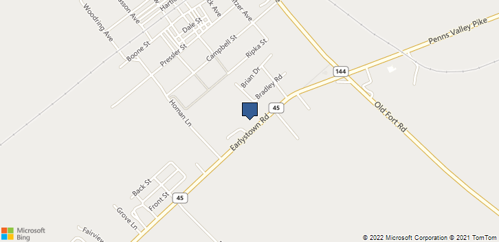 2825 Earlystown Road Centre Hall, PA, 16826 Map