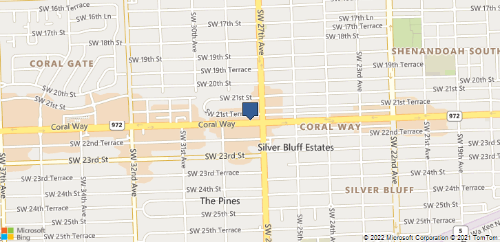 2827 Coral Way Miami, FL, 33145 Map