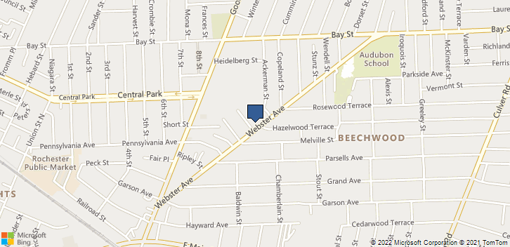283 Webster Ave. Rochester, NY, 14609 Map