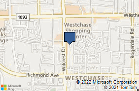 Bing Map of 2901 Wilcrest Dr Ste 150 Houston, TX 77042