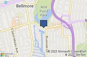 Bing Map of 2916 Merrick Rd Bellmore, NY 11710