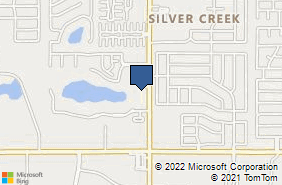 Bing Map of 2962 Nw 156th St Edmond, OK 73013