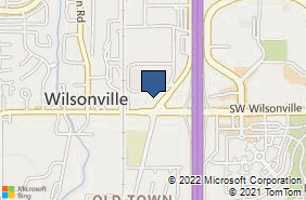 Bing Map of 29955 Sw Boones Ferry Rd Ste E Wilsonville, OR 97070